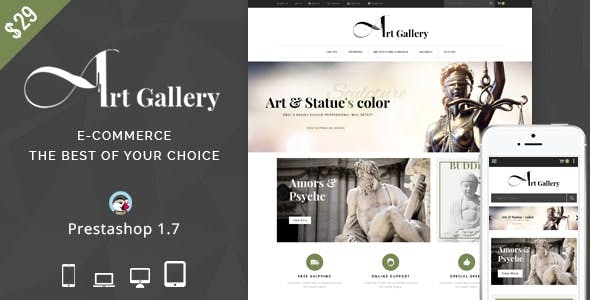 Art Gallery - Prestashop Theme