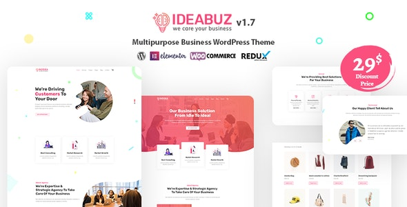 Ideabuz Theme Preview