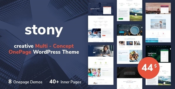 Stony - Small Business WordPress - Business Corporate