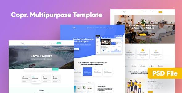 Copr Multipurpose Agency Template