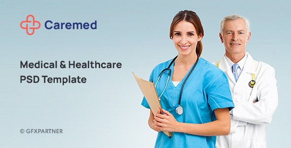 Caremed – Medical & Healthcare PSD Template - Health & Beauty Retail