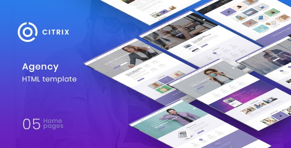 Citrix - Agency Multipurpose HTML5 Template - Creative Site Templates