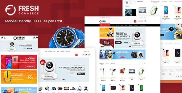 Freshcom Digital - Responsive Shopify Theme - Technology Shopify