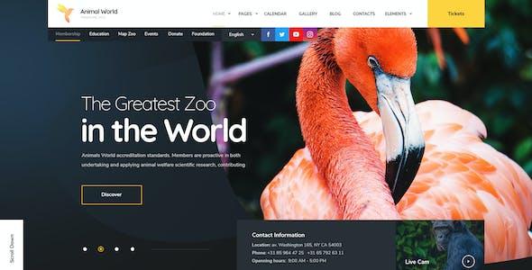 WildWorld - Zoo | Safari & Animal Protection Environment HTML Template