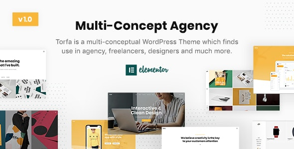 Torfa — Multi-Concept Agency Theme - Business Corporate