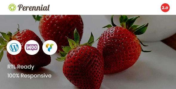 Perennial - Store WooCommerce WordPress for Organic Food Theme - WooCommerce eCommerce