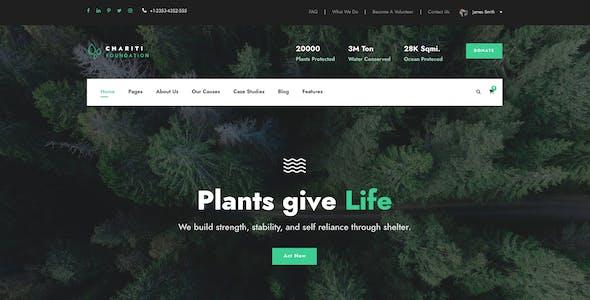 Chariti - Charity & Donation WordPress