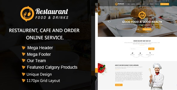 Restaurant OpenCart Theme - Miscellaneous OpenCart
