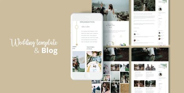 Queen Story - Wedding Template - Wedding Site Templates