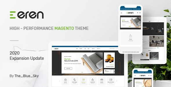 Eren - Magento 2 Responsive Fashion Theme by Blueskytechco | ThemeForest