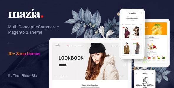 Mazia - Clean, Minimal Magento 2 Theme - Shopping Magento