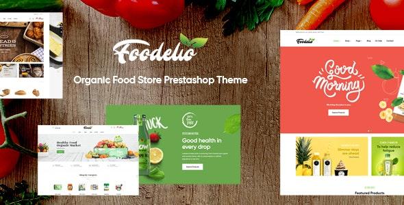 Leo Foodelic - Organic Food Store Prestashop Theme