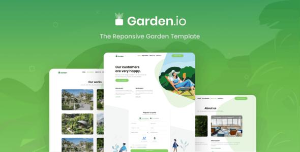 Garden.io -  Gardening and Landscaping - Business Corporate