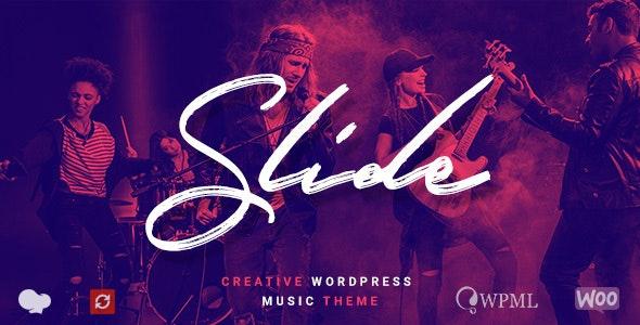 Slide - Music WordPress Theme - Music and Bands Entertainment