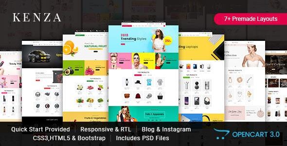 Kenza - Responsive Opencart 3 Theme - Fashion OpenCart