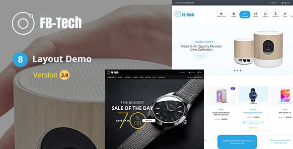 FB Tech - Digital shop RTL WooCommerce Theme - WooCommerce eCommerce