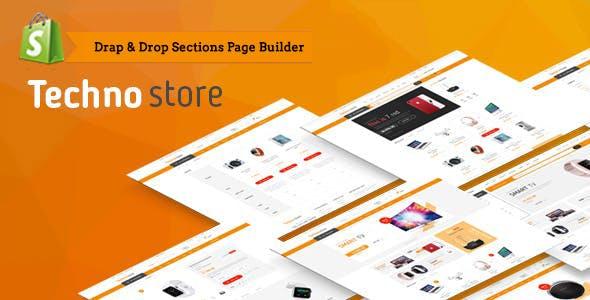 Techno Store - Electronic eCommerce Shopify Theme