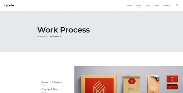 Lpardo — Creative agency Figma Template