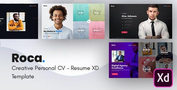 Roca - Creative Personal CV/Resume Template