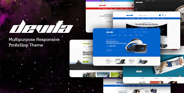 Devita - Multipurpose Responsive Opencart Theme - Shopping OpenCart