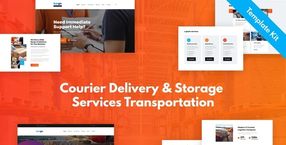 Kargo - Delivery & Storage Template Kit