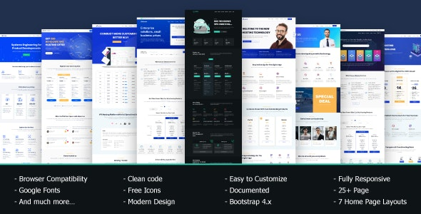 VRocket - HTML5 Hosting Template - Hosting Technology