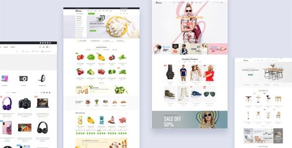 Bionas - eCommerce Marketplace Prestashop Theme - PrestaShop eCommerce