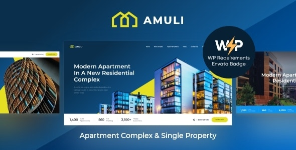 Amuli | Property & Real Estate WordPress Theme - Real Estate WordPress