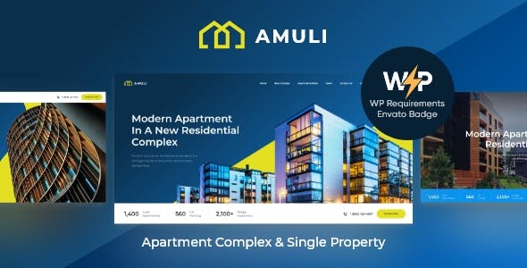 Amuli | Property & Real Estate WordPress Theme