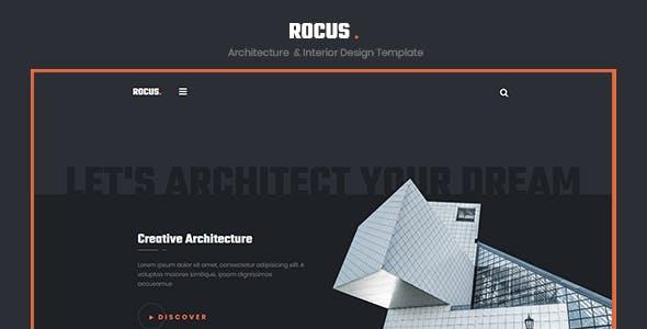 Rocus - Architecture & Interior Design Agency Template