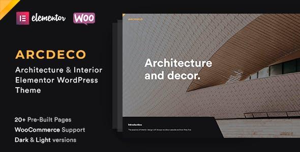 Download Arcdeco - Architecture Interior Design Theme