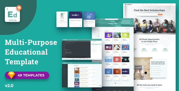 Elemento for Education - Sketch Template - Miscellaneous Sketch
