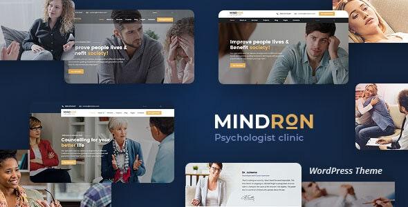 Mindron - Psychology & Counseling WordPress Theme - Health & Beauty Retail