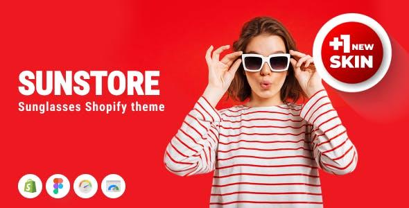 Sunstore - Sunglasses Responsive Shopify Theme