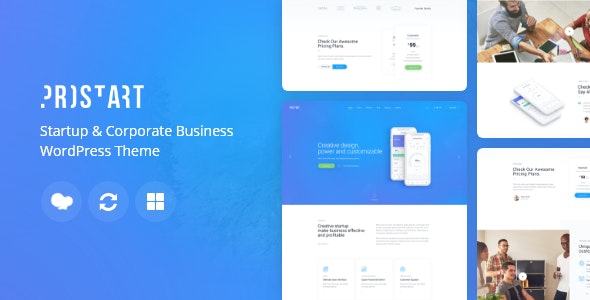 ProStart | Startup & Corporate Business WordPress Theme - Business Corporate