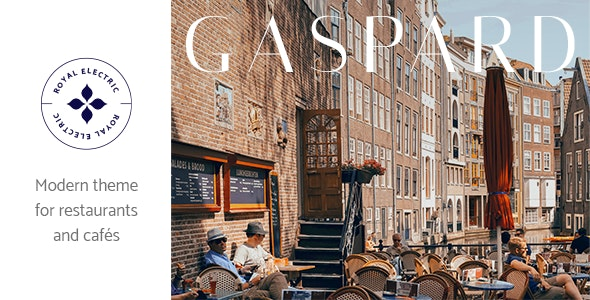 Gaspard - Restaurant and Coffee Shop Theme - Restaurants & Cafes Entertainment