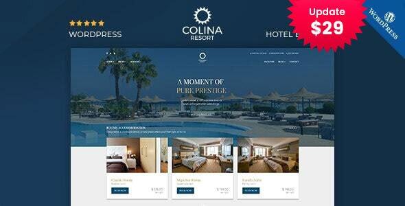 Colina : Resort and Hotel WordPress Theme - Travel Retail
