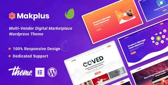 Makplus - Digital Marketplace WooCommerce Theme - WooCommerce eCommerce