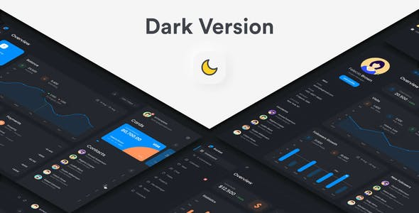 Rocketboard – Admin Dashboard & UI Kit + Charts Kit Figma Template