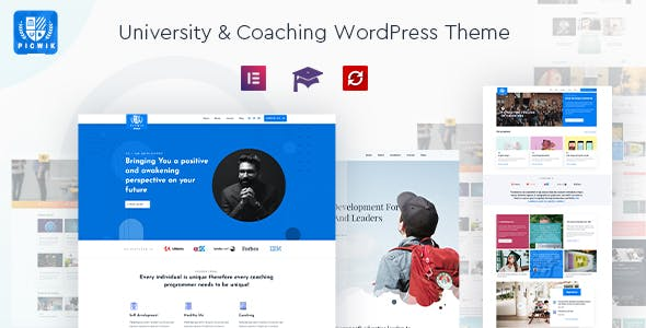 Download Picwik - University & Coaching WordPress Theme