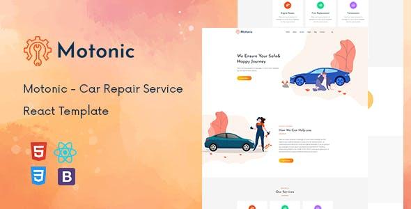 Motonic - Car Repair Service React Template