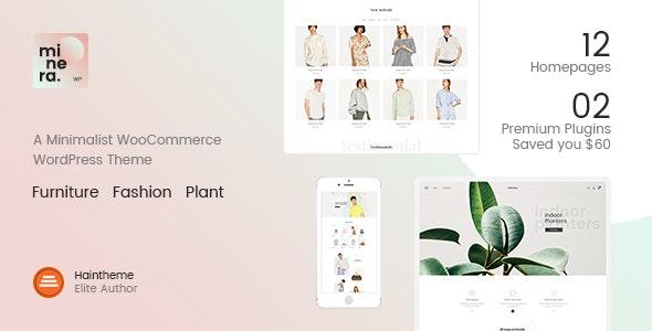 Minera - Minimalist WooCommerce WordPress Theme - WooCommerce eCommerce