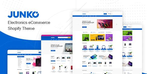 Junko - Electronics eCommerce Shopify Theme - Shopping Shopify