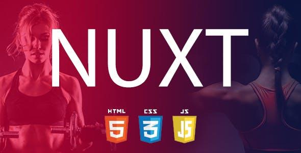 Download Nuxt – Creative Personal Portfolio HTML Template