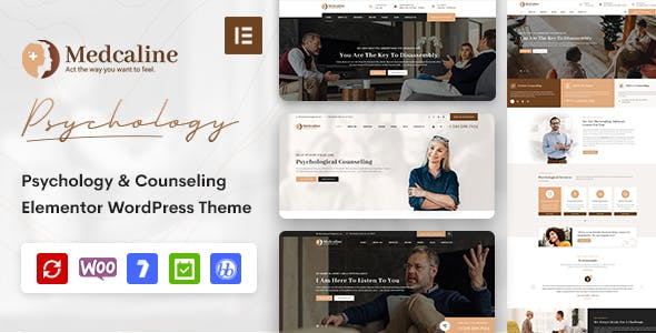 Download Medcaline - Psychology & Counseling WordPress Theme