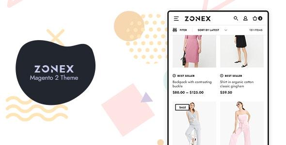 Zonex Fashion eCommerce Magento 2 Theme - Magento eCommerce