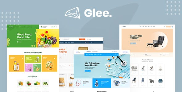 Glee  - Multipurpose eCommerce HTML5 Template