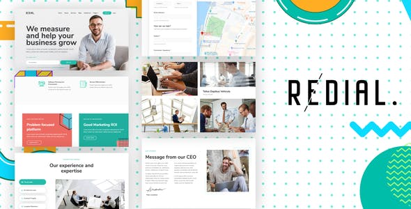 Redial - Corporate & Business Template Kit