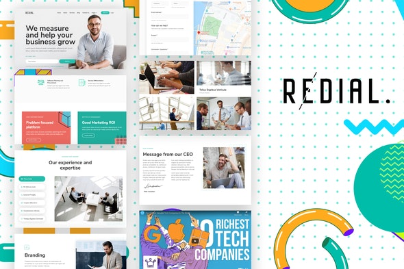 Redial - Corporate & Business Template Kit - Business & Services Elementor