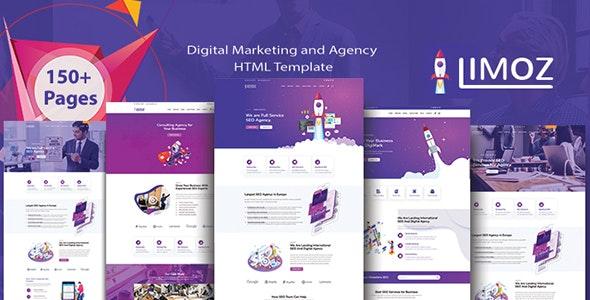 Lemoz SEO Digital Marketing and Agency HTML Template - Marketing Corporate